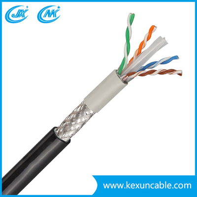 UTP Indoor Outdoor Cable CAT6 Network LAN Cable, Data Cable, Shielded Communication Cable