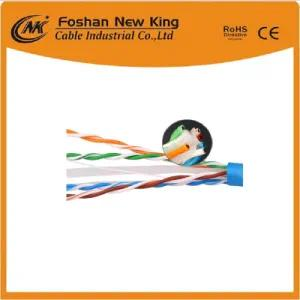 High Speed UTP CAT6 Indoor Ethernet LAN Cable Network Cable with Bare Copper