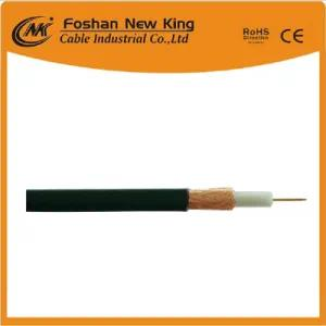 Hot Selling RG6 Coaxial Cable for Satellite CCTV with CCS/Bc Conductor
