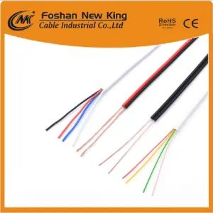 Professional Factory Flat 4 Cores Telephone Cable for Indoor Used