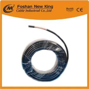 China Manufacturer Dual RG6 Coaxial Cable for CATV/CCTV/Satellite/Antenna Used