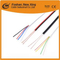 Factory 4 Core Flat Telephone Cable Communication Cable (white PVC)