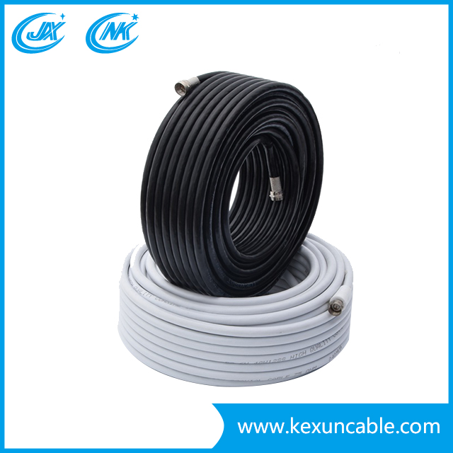 RG Series 75 Ohm RG6 with Power Cable (RG6+2DC) of Camera CCTV Antenna Cable