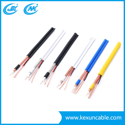Factory Price High Transmitting CCTV Cable Rg59/RG6 Coaxial Cable with CCS/Ccu/Bc