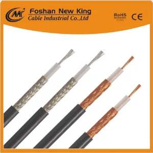 Coaxial Cable Rg58 Coaxial Cable of PVC Jacket for Telecom Communication