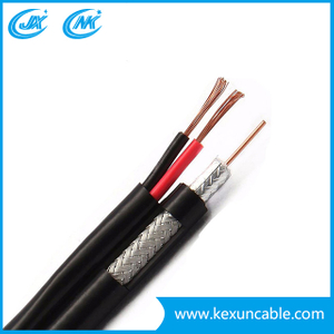 Rg59 Coaxial Cable Surveillance Security Cable with Copper or CCS Conductor