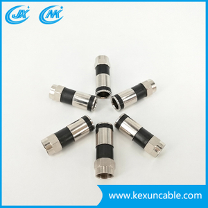 Factory Gurantee Rg59 Coaxial Cable with F-Connector for Surveillance Camera Surveillance System