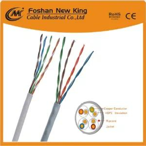 LAN Cable UTP FTP SFTP CAT6 Approved Ethernet Cable Grey Color