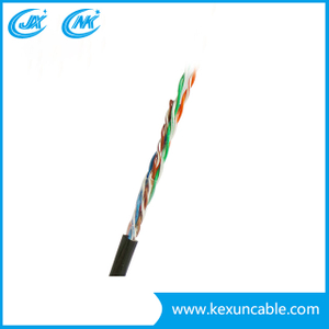 Factory Supply UTP Cat5e LAN Cable Standard Outdoor Communication Cable Cat5e