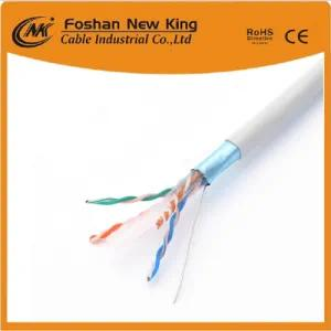 UTP FTP Bc/CCA Conductor CAT6 Network Cable Application for Communication Within 250m transmission