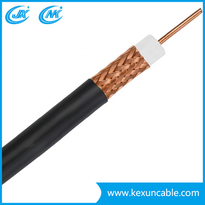 China Manufacturer Digital Quad Shield RG6 CCTV and CATV Coaxial Cable with CCS or Bc Conductor