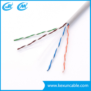 China Hot Selling UTP Cat5 Cat5e CAT6 Network Cable LAN Cable with Good Quality