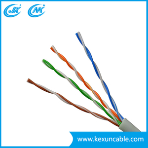 China Professional Factory Flat 4 Cores Telephone Cable with High Quality