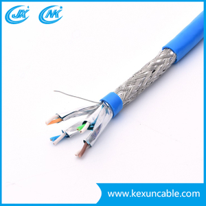 4X2X24AWG CCA/Bc UTP FTP SFTP Cat5e Ethernet Network Cable LAN Cable Patch Cord Cable