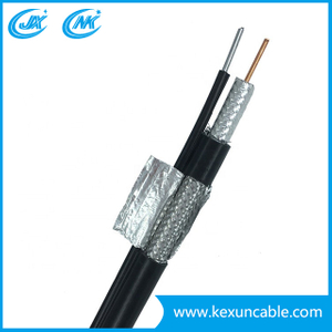 Telecommunication Cable Rg Series Rg11 Rg58 Rg59 with Black PVC Jacket
