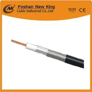RG6 CCS PE Foam Coaxial CCTV Cable 75 Ohm Cable Electric Manufaturer CCTV Cable Rg59 with Power Cable for HD Camera